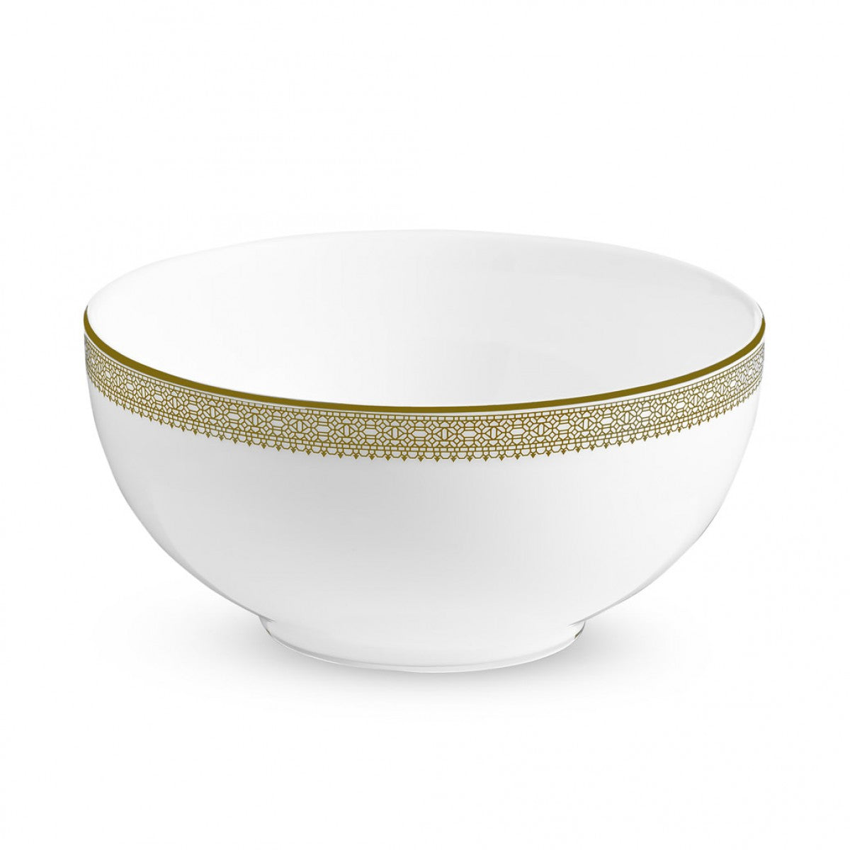 Vera Wang Lace Gold Soup/Cereal Bowl