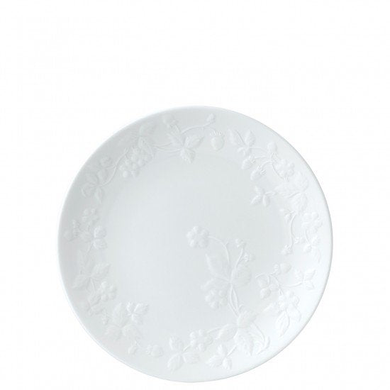 Wild Strawberry White Plate 21cm
