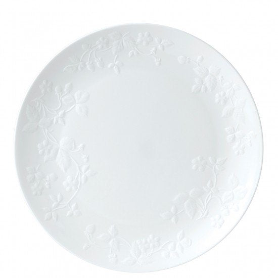 Wild Strawberry White Plate 27cm