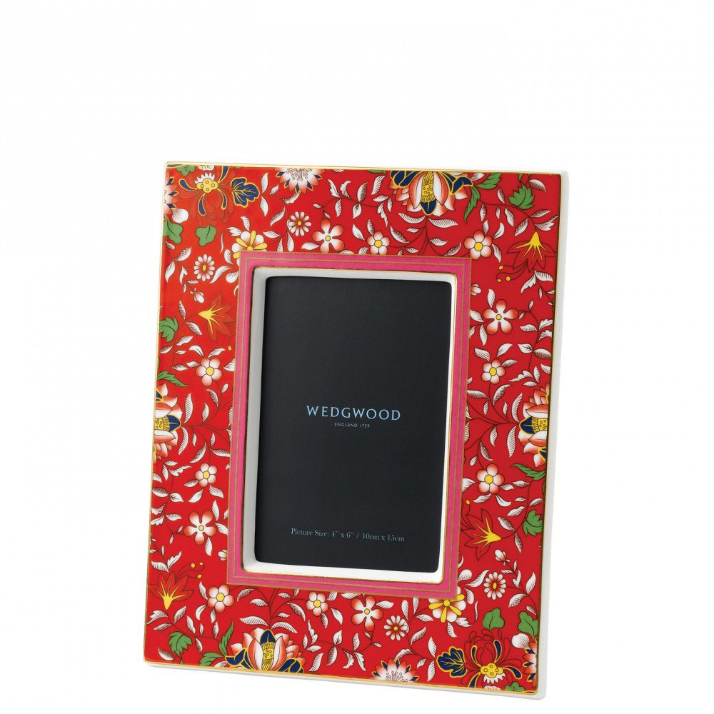 Wonderlust Crimson Jewel Photo Frame (Photo: 10.6x15.2cm / 4x6inch)