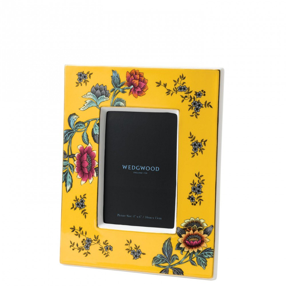 Wonderlust Yellow Tonquin Photo Frame (Photo: 10.6x15.2cm / 4x6inch)