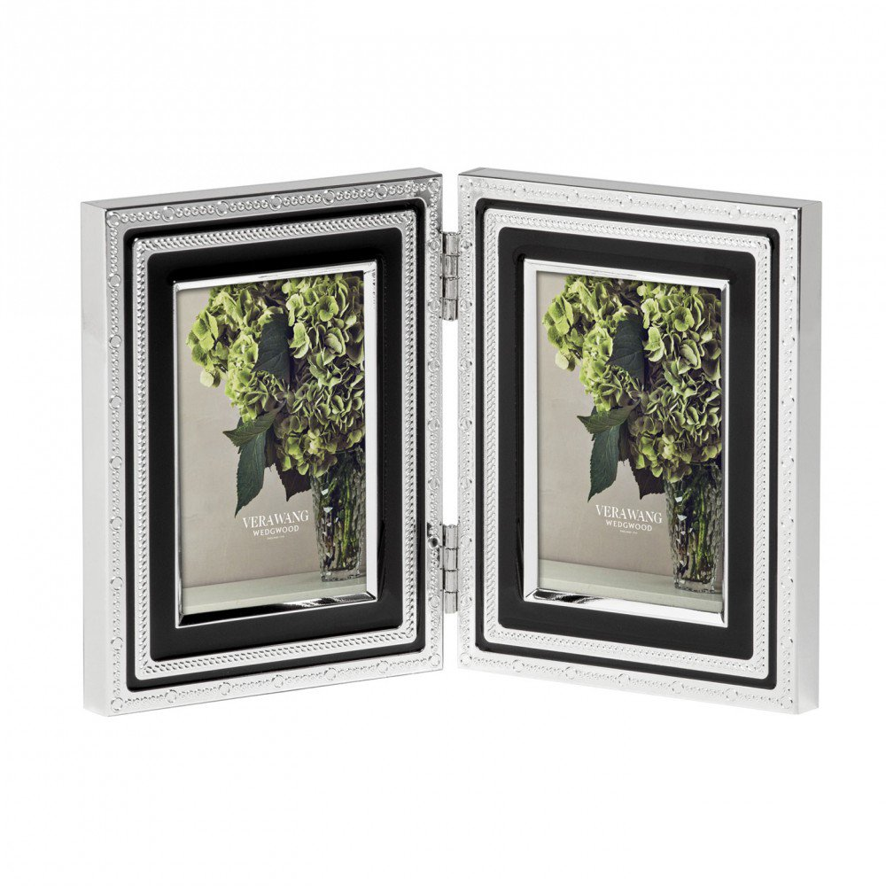 Vera Wang With Love Noir Photo Frame, Folding (Photo: 5x7.5cm / 2x3inch)