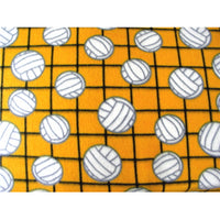 Volleyball Yellow Fleece F1157