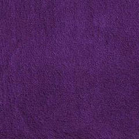 Purple Minky Spa Fleece