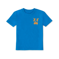 Pillow Fight Kids T-Shirt Mini Bar Blue - Shop The Standard