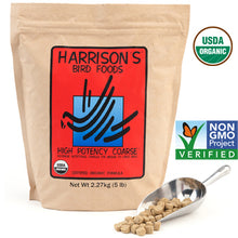 Harrison Bird Food High Potency Coarse - 5 LB Bag