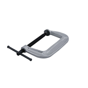 "JPW Industries 41406 140 Series C-Clamp, 0"" - 4"" Jaw Opening, 2-3/4"" Throat Depth"