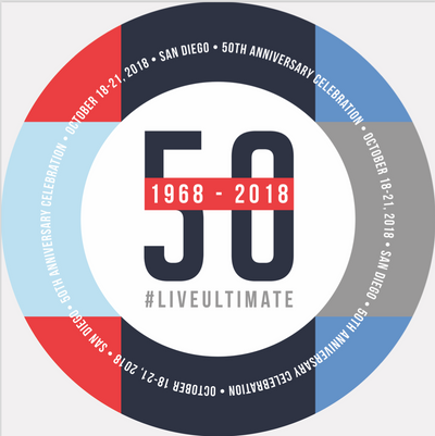 50th Anniversary of Ultimate Custom Ultrastar 175 gm Disc, from Discraft