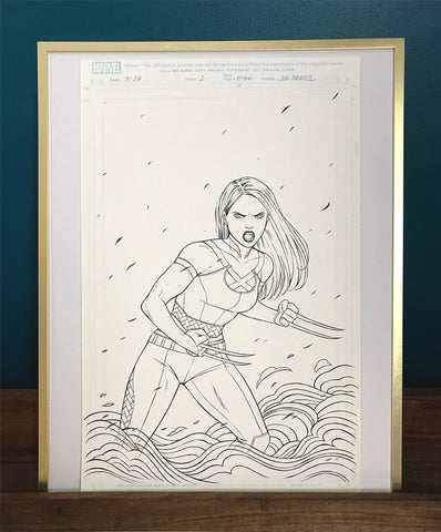 X-23 #1 Variant Cover Original Art