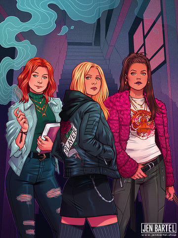 Buffy the Vampire Slayer Print