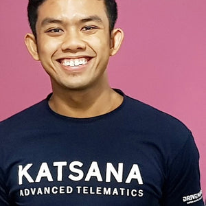 KATSANA Official Tee in Dark Blue