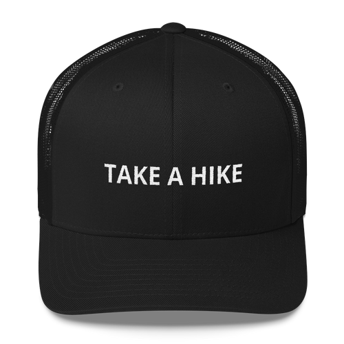 Take A Hike Retro Trucker Cap