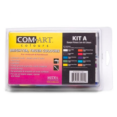 Medea Com-Art Opaque Primary Color Set A