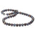 Black Freshwater Pearl Necklace, 8.5-9.0mm