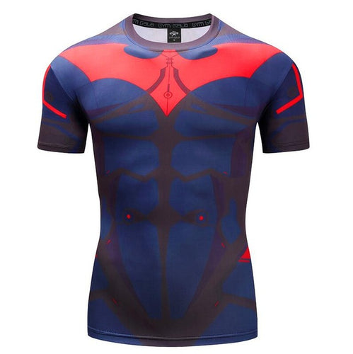 Mens Fitness T Shirt - Batman Beyond
