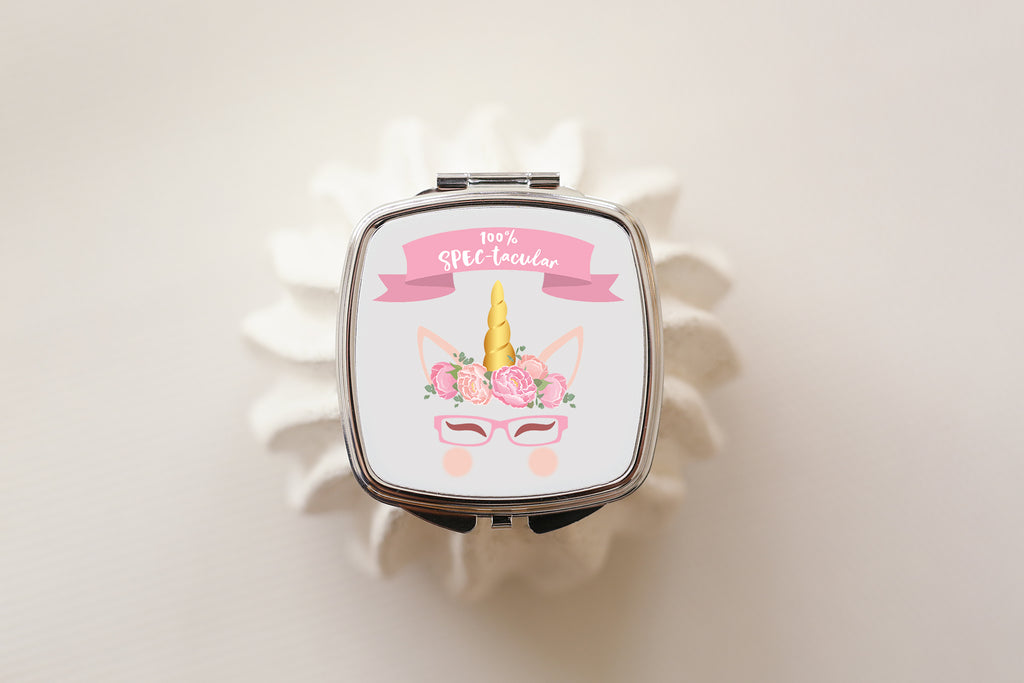 100% Spectacular - Unicorn Compact Mirror - Fairy Specs