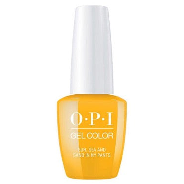 OPI GelColor - Sun Sea and Sand In My Pants