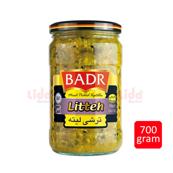 Badr Mixed Pickle Vegtables Litteh | ترشی لیته بدر
