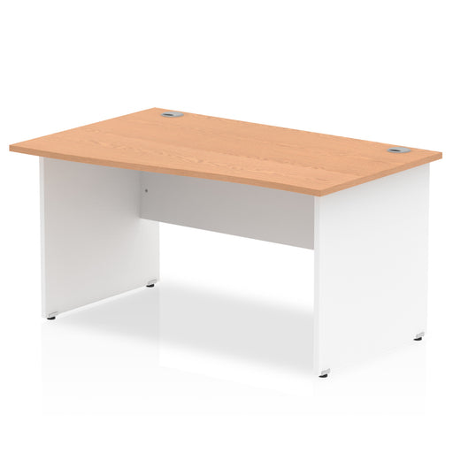 Wave desk - Panel end legs - Available in 4 finishes!