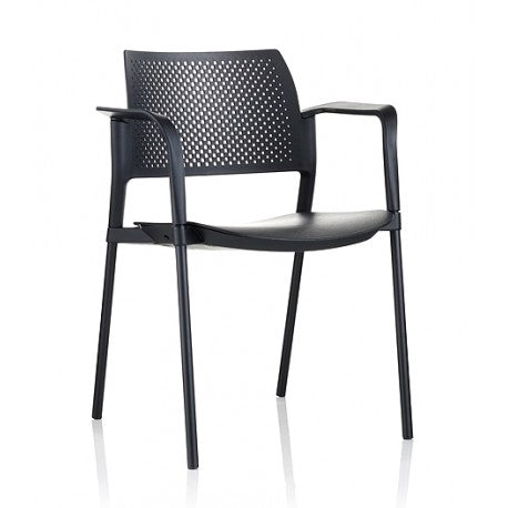 Torasen Kyos KS1A - Stackable Chair With Arms