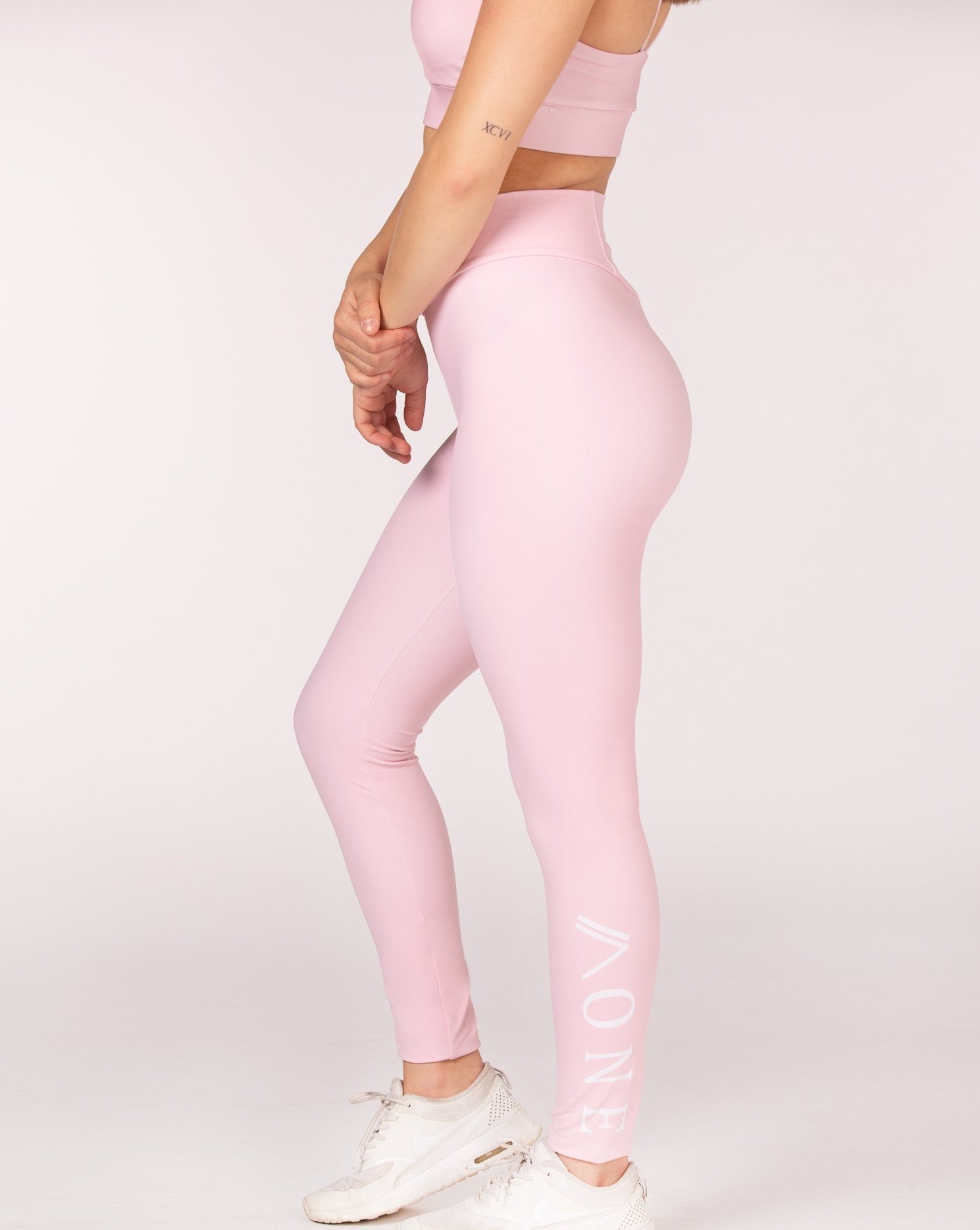 RELENTLESS - LEGGING rose