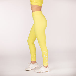 RELENTLESS - LEGGING jaune