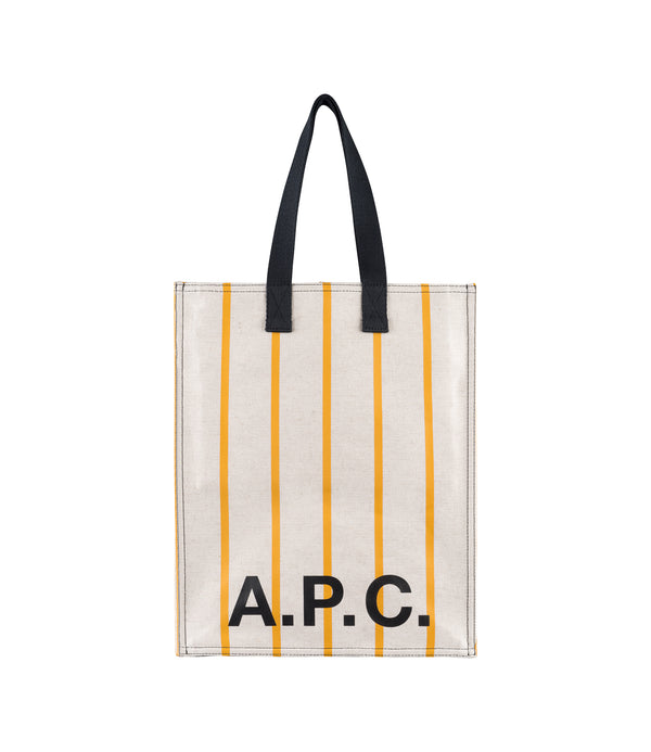 Construction shopping bag - EAG - Ochre