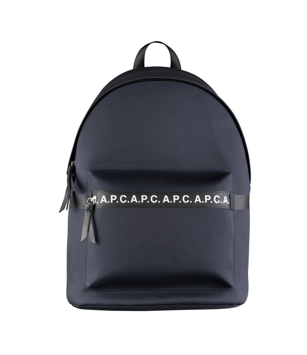 Savile backpack - IAK - Dark navy blue