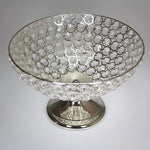 Silver Crystal Decorative Bowl