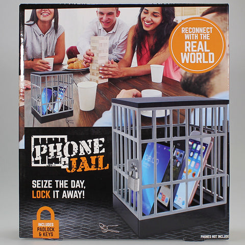 Phone Jail - with Padlock and Keys