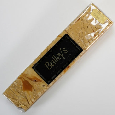 Bailey's Fudge - Salted Caramel Fudge Bar