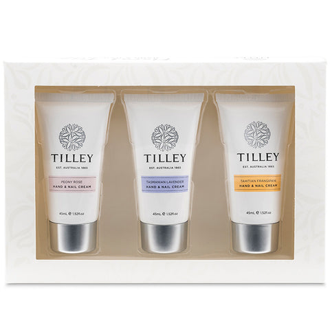 Tilley Hand and Nail Trio - Floral - 3 x 45ml