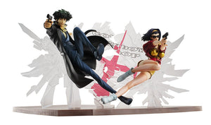【預訂日期至20-Jul-19】Mega House Cowboy bebop Spike & Faye 1st GIG SET PVC Figure