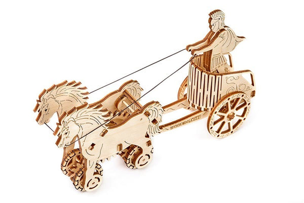【現貨】The Hariman WOODEN.CITY: 3D Puzzle Roman Chariot