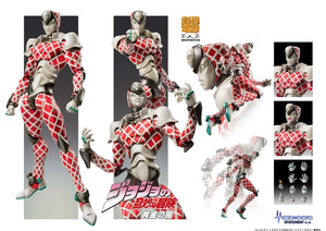 【預訂日期至18-Aug-19】MEDICOS JoJo`s Bizarre Adventure -Part V- King Crimson Action Figure [再販]