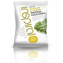 Box of 6 Baobab & Onion Kale Chips 60g