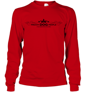 Unisex Red Long Sleeve FDP (you know who you are)