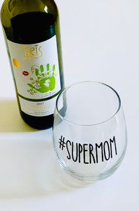 Happy Hour Glass #supermom