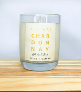 Happy Hour Candle Chardonnay