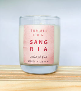 Happy Hour Candle Sangria