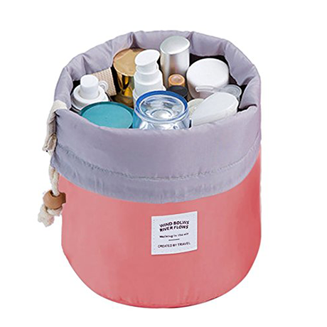 Barrel Makeup Bag