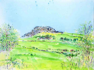 The Joy of Almscliffe Crag, unframed giclée limited edition print