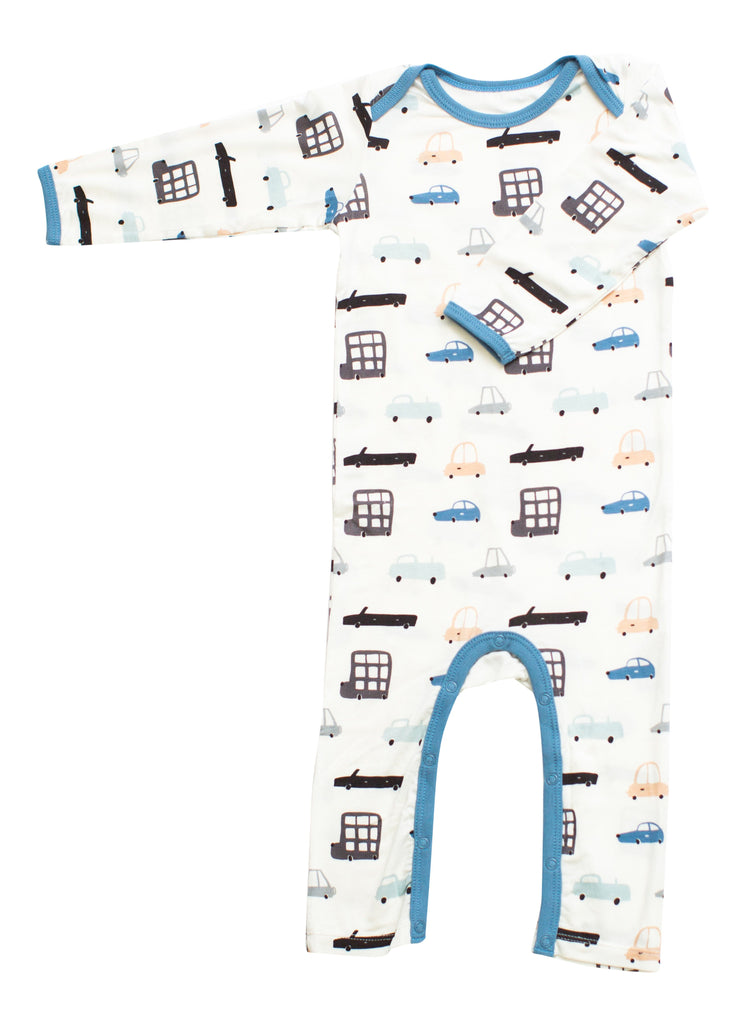 Bestaroo Overlap Romper for Boys