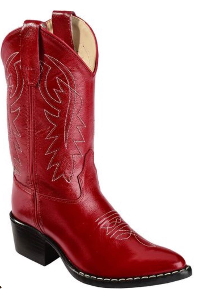 Old West Red 8116 Classic Cowboy Boot