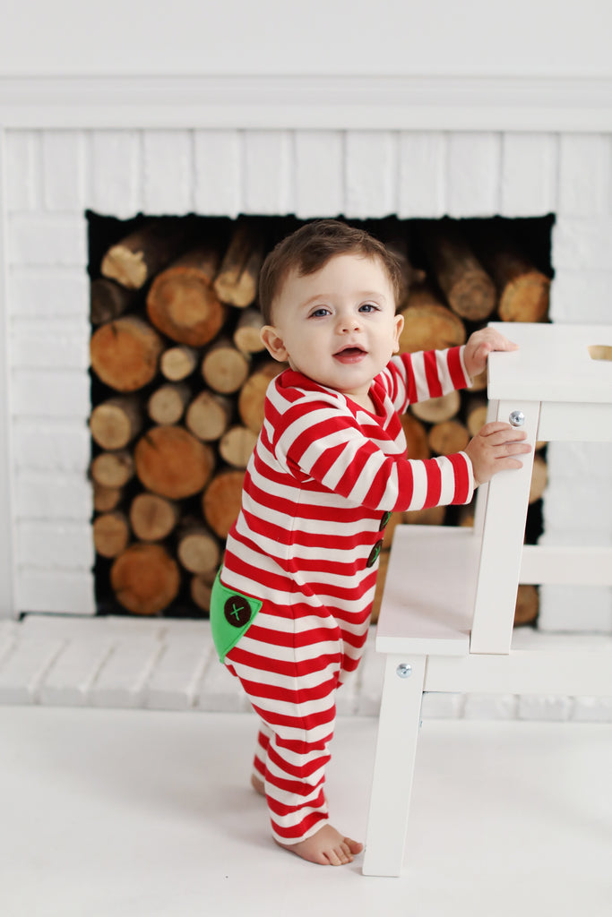 Lemon Loves Layette Elf Romper