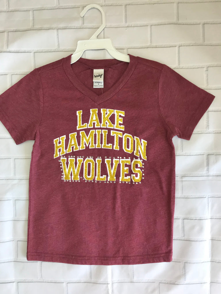 Kavio Lake Hamilton V-Neck Tee