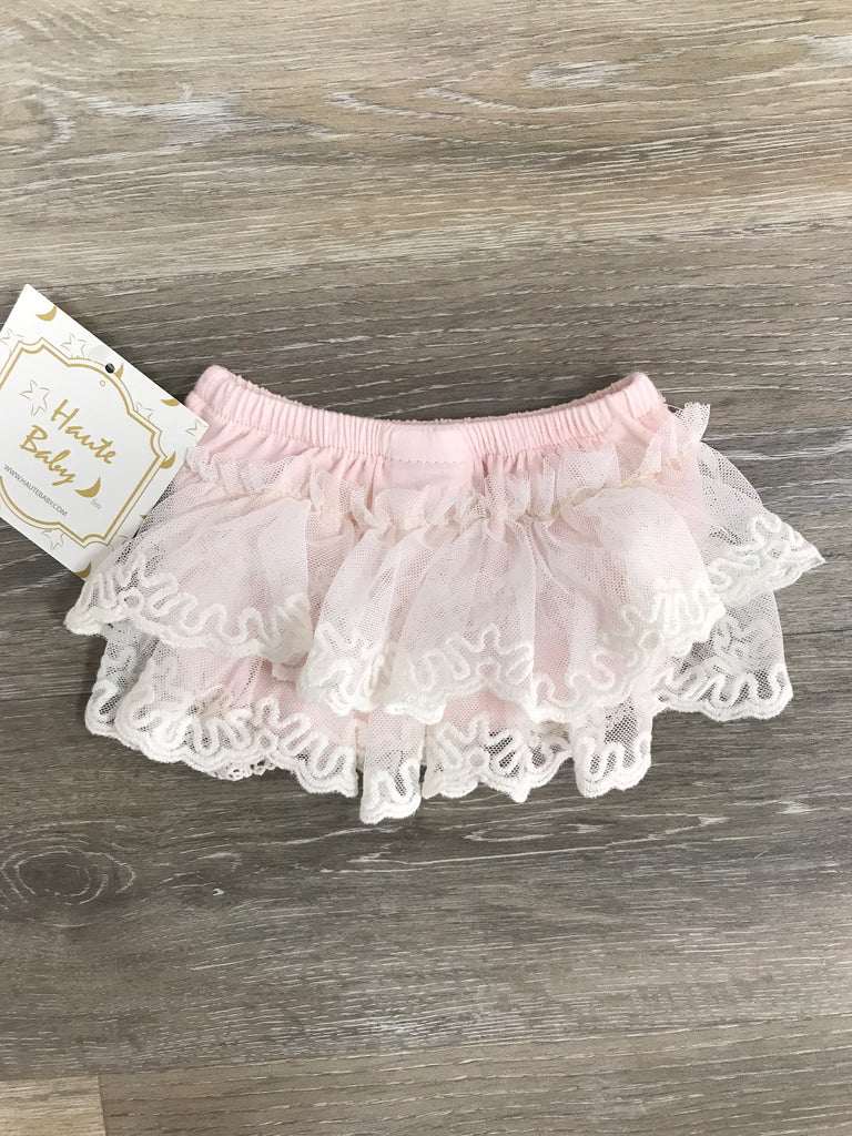 Haute Baby Sweet Pea Pink Diaper Cover