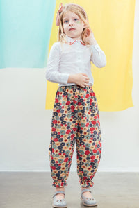 Micah trousers, Red flower