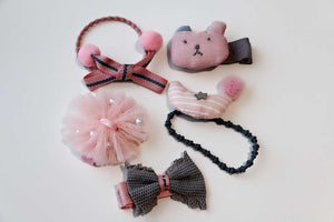 5Pcs Girls Hair Accessories-Ava