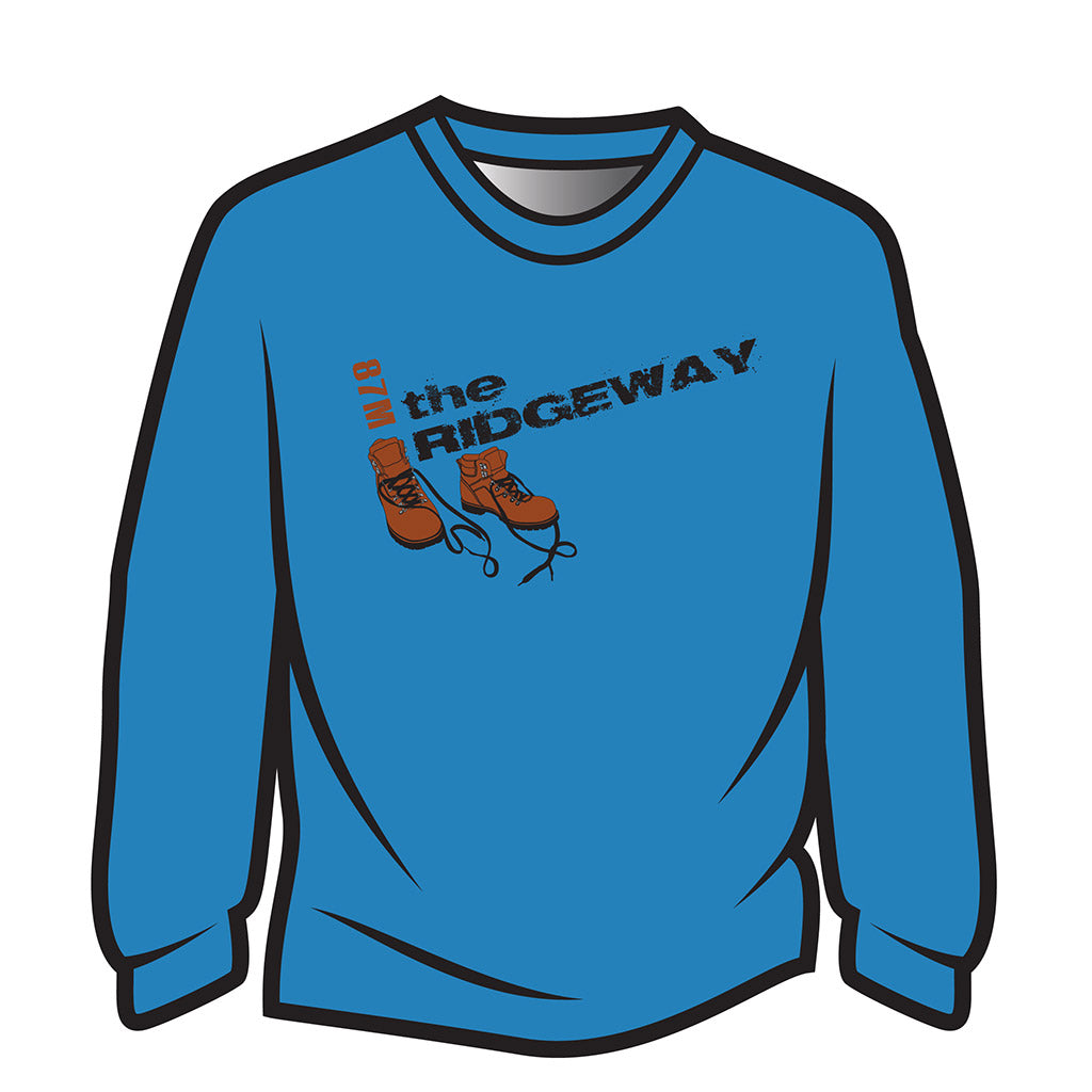 Blue The Ridgeway Design 2 Sweatshirt